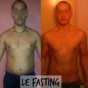 Vincent avant après Fasting